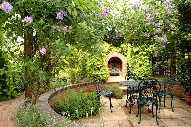Мой любимый сад своими руками фото